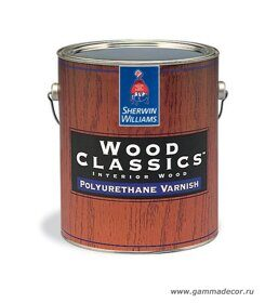 Лак Sherwin-Williams - WOODCLASSICS Polyurethane Varnish 0,95л