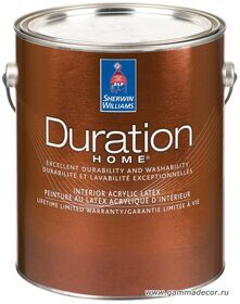 Интерьерная краска Sherwin-Williams - DURATION HOME Interior Acrylic Latex 3,8л